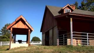 Barn Pros - Olympic 36 Gable Barn With Paragon Compositng System