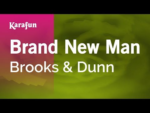 Karaoke Brand New Man - Brooks & Dunn *