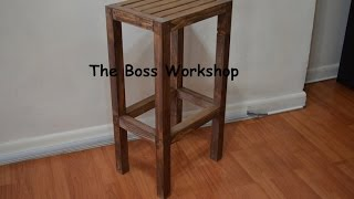 In this video you will see how I made this wooden stool using Modern builds design which can be seen here https://www.youtube.