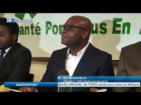 SANTE/SPORT : Sortie oficielle de l'ONG Santé pour tous en Afrique