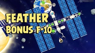 Angry Birds Space Level F-10 Solar System Space Eagle Walkthrough