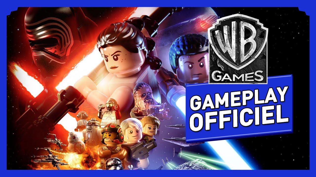 lego star wars le rveil de la force gameplay officiel