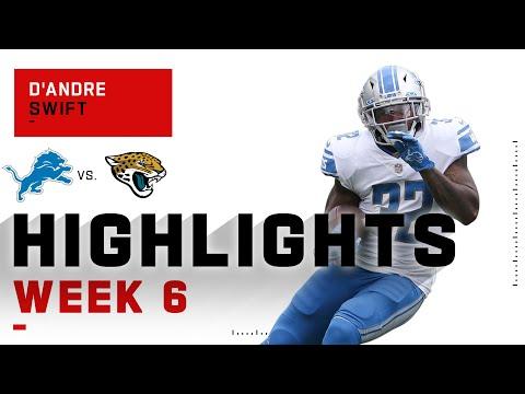 D'Andre Swift Goes OFF w/ 116 Yds & 2 TDs | NFL 2020 Highlights