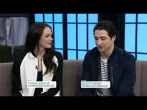 """CTV News Channel Tessa Virtue and Scott Moir teach Ben and Lindsey """"the look"""""""