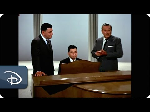 The Sherman Brothers Singing With Walt Disney | Disney Parks