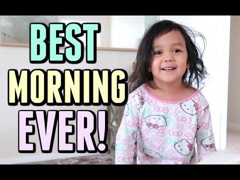 THE BEST MORNING EVER! - October 15, 2017 -  ItsJudysLife Vlogs