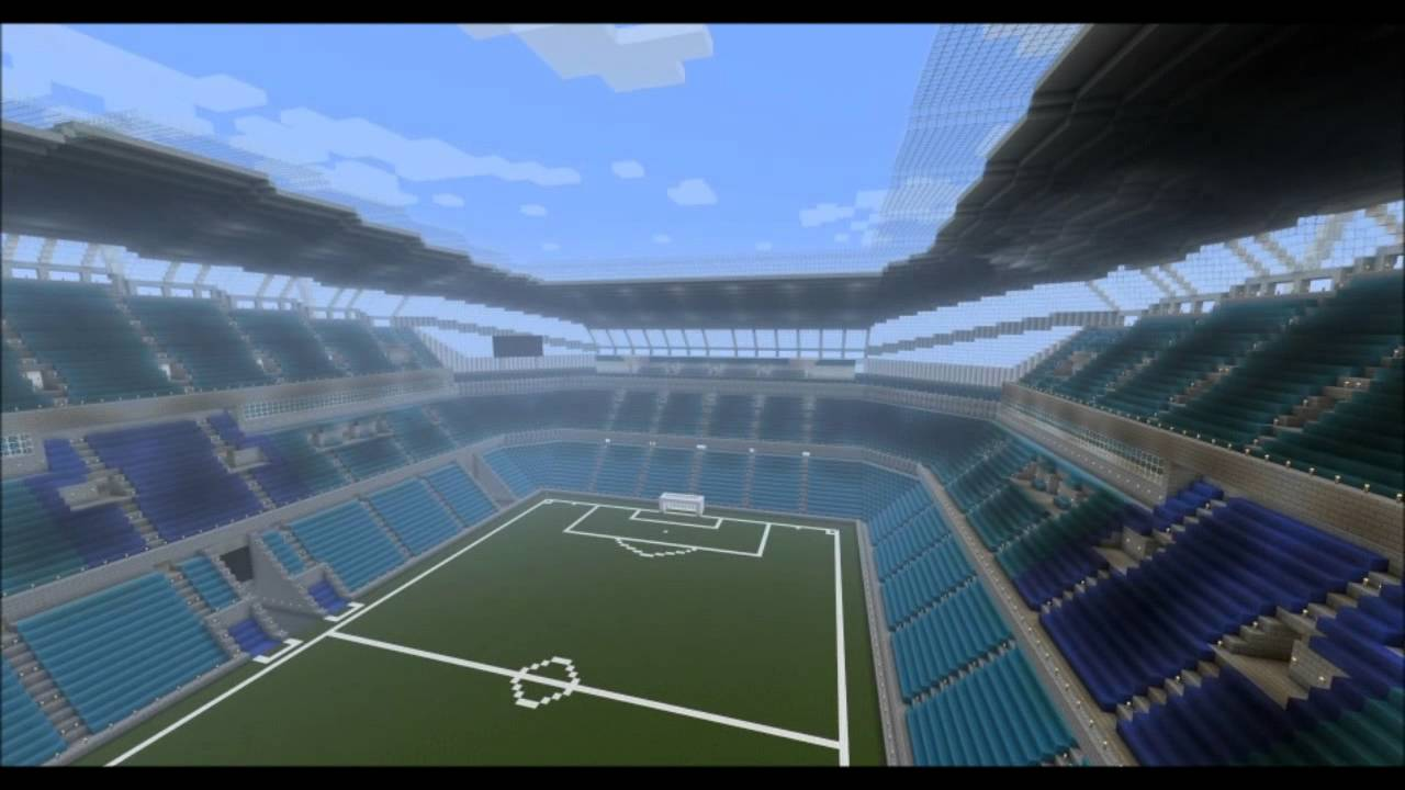 Minecraft Football Stadium Manchester City Etihad
