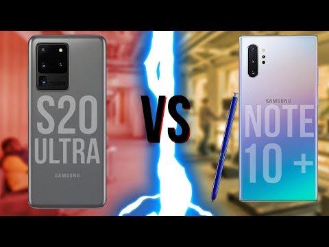 Samsung Galaxy S20 Ultra ПРОТИВ Galaxy Note 10+!