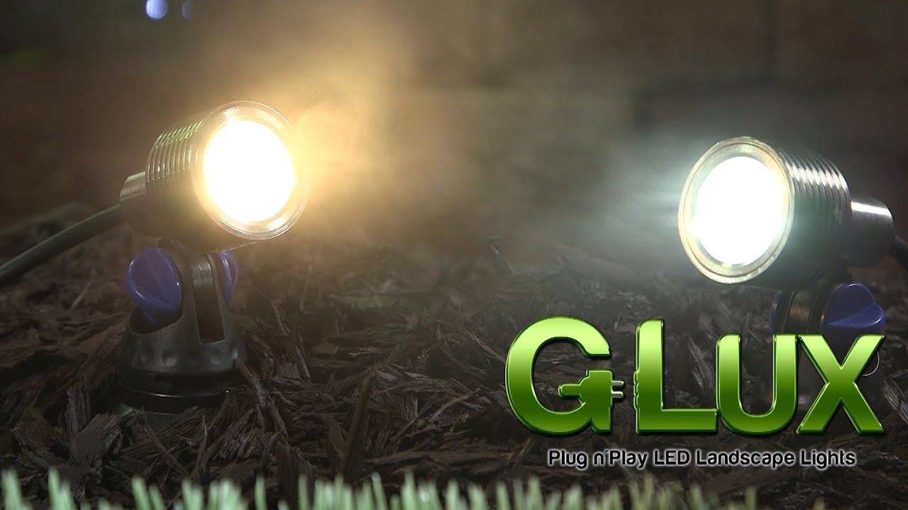 Landscaping led spot light g lux series 3 watt youtube aloadofball Images