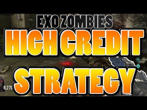 MAX CREDIT STRATEGY - Exo Zombies DUAL Rank 25 MAXED Weapons Solo