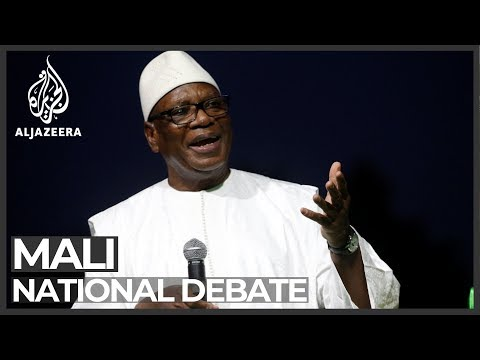 Mali: President Keita holds crisis talks amid unrest in the north