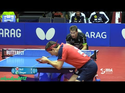 Timo Boll vs Bastian Steger (German League 2018)
