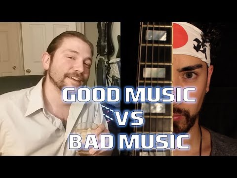 GOOD MUSIC vs BAD MUSIC (Samurai Guitarist) | Mike the Music Snob Reacts