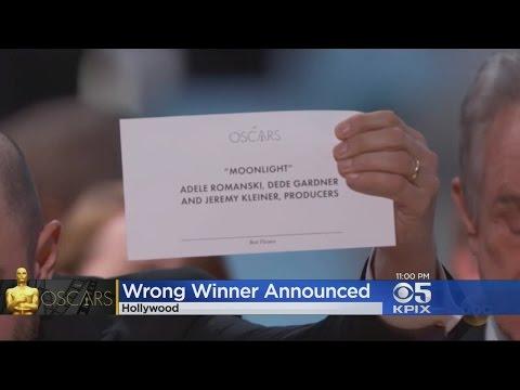 OSCAR GAFFE: Moonlight named Best Picture after major Oscars gaffe