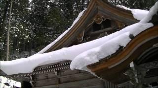 雪の明王院・滋賀県大津市葛川