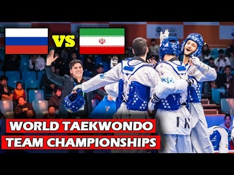World Taekwondo Team Championships | [SEMI-FINAL] IRAN vs RUSSIA | WT Grand Slam 2017-2018 Season
