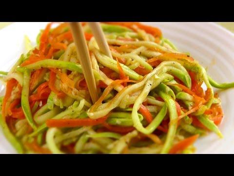 Салат Корейский кабачок/ Кабачки с морковью по-корейски