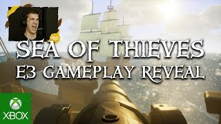 Sea of Thieves Gameplay Reveal - Xbox E3 2016(SEA OF THIEVES GAMEPLAY REVEAL E3 TRAILER. XBOX ONE & WINDOWS 10 EXCLUSIVE | Be the first to watch fans play Sea of Thieves for the first time., 2016-06-13T17:46:25.000Z)