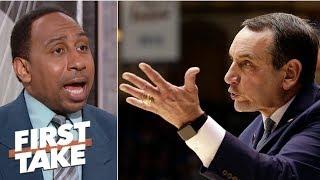 Coach K uses USA Basketball to his advantage – Stephen A. | First Take