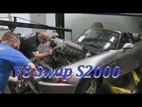 S2000 V8 Ls Swap Part 1 Youtube
