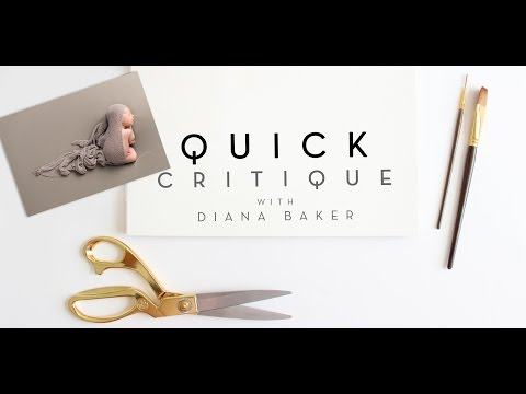 Ep 26 - Quick Critique with Diana Baker