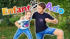 ENFANTS VS ADOS - Swan VS Néo