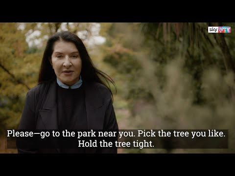 Marina Abramović's Method for Overcoming Trauma: Go to a Park, Hug a Tree Tight, and Tell It Your Complaints for 15 Minutes