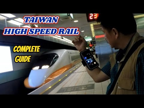 From Taoyuan Airport Using Taiwan High Speed Train