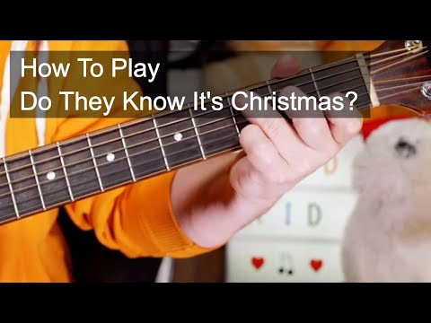 'Do They Know It's Christmas' Band Aid Guitar & Bass Lesson