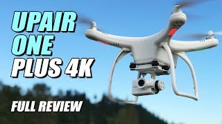 UPAir ONE Plus 4K - Full Review - [ Unbox, Setup, Flight Test, Pros & Cons ] Video