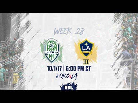 USL LIVE - OKC Energy FC vs LA Galaxy II 10/1/17