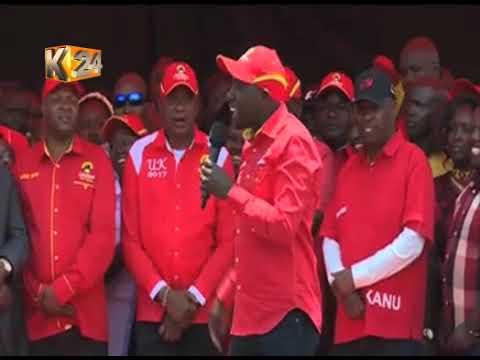 Isaac Ruto atangaza kugura NASA, kumuunga mkono Kenyatta