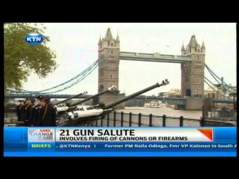 Tradition of 21 gun salute and origin