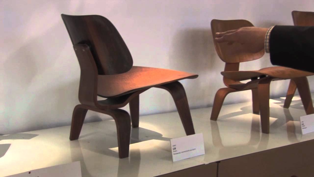 Charles and Ray Eames Early and later Shock Mounts & Charles and Ray Eames Early and later Shock Mounts - YouTube
