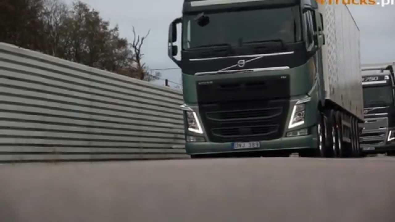 the new volvo fh - youtube