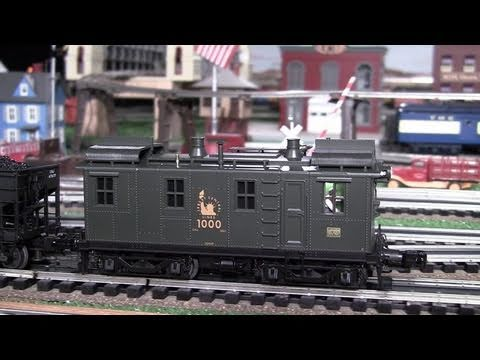 MTH Premier CNJ Alco-GE-Ingersoll Rand O-Gauge Diesel Locomotive in True HD 1080p