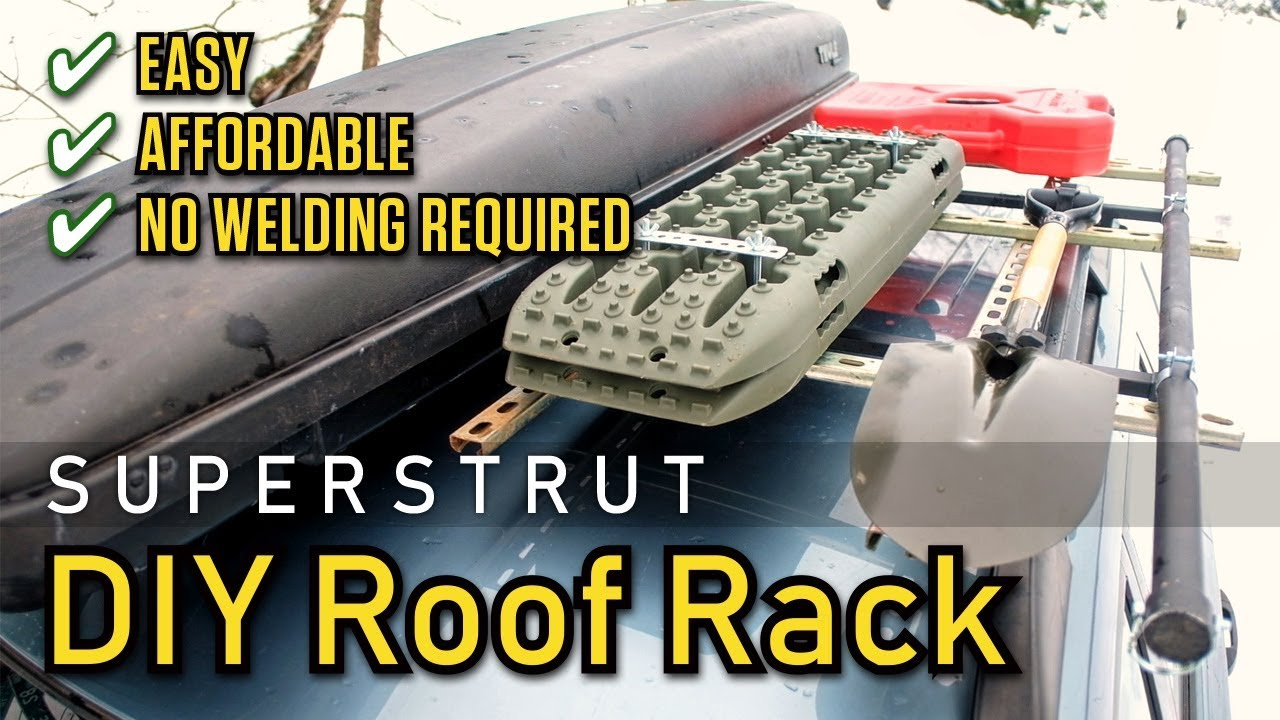 Easy Inexpensive Diy Roof Rack Using Superstrut Unistrut