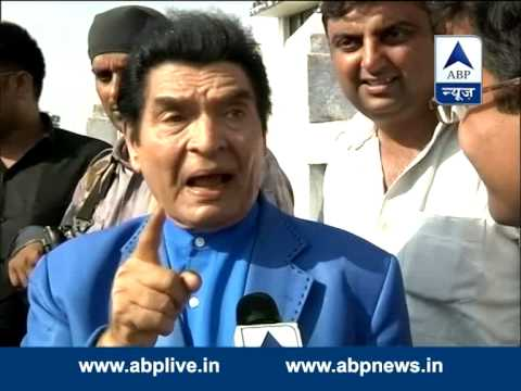 Comedian Asrani campaigns for Amar Singh