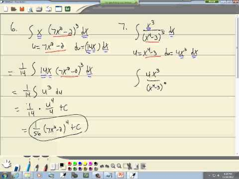 Calculus for Business-Economics: Integration by Substitution and the General Power Rule