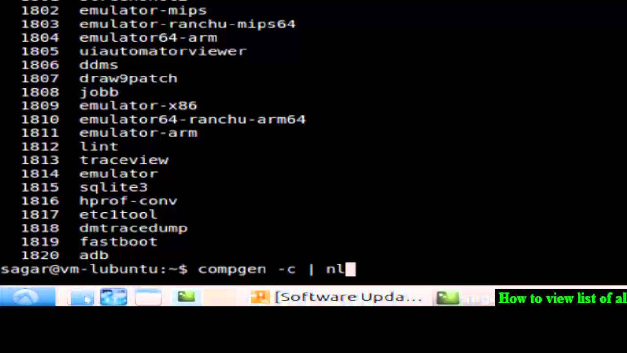 unix commands list pdf download