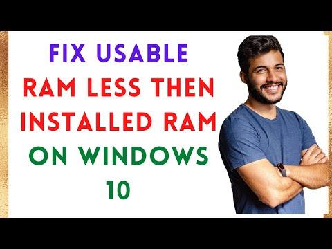 Installed Memory Ram Usable Setting | How To Make All Ram Usable?