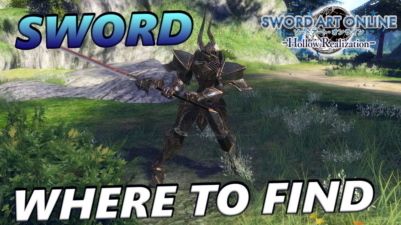 Sword Art Online: Hollow Realization - Where To Find Sacred Reign, 1 Hand  Sword (Green Tier Rarity)