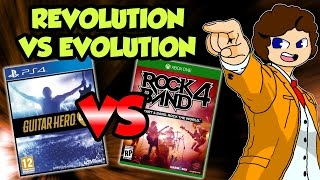 Guitar Hero Live VS Rock Band 4 - valeforXD