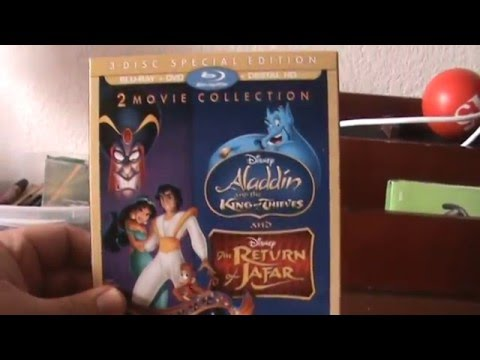 Download Disney's Aladdin and the King of Thieves/The Return of Jafar Blu-Ray Unboxing