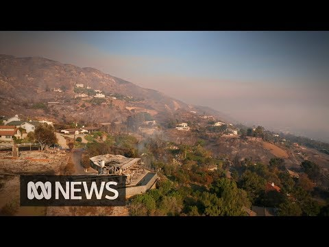 California fires char hills surrounding Malibu | ABC News