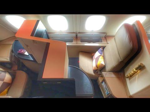 Etihad A380 Business Studio