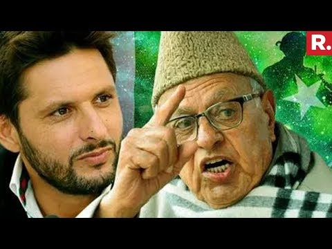 Farooq Abdullah backs Shahid Afridi over Kashmir comment