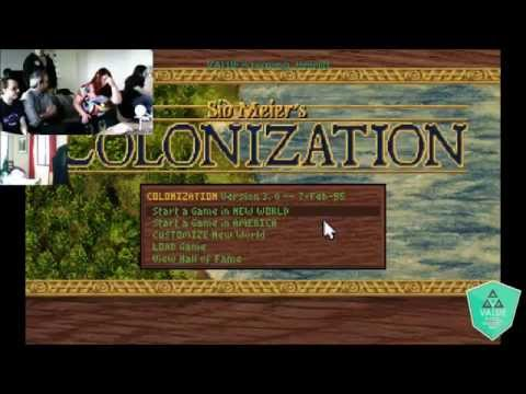 VALUE plays: Sid Meier's Colonization (Part 1) |