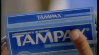 publicidad tampax 1991 argentina.
