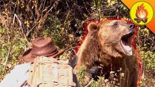 NERVE WRACKING Bear Encounter!